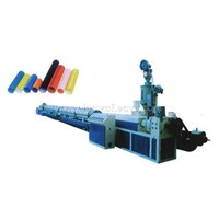 SLG63 HDPE Cable Silicone Core Pipe Extrusion Production Line