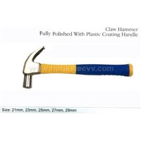 Claw Hammer Fully Polished With FibreglassHandle