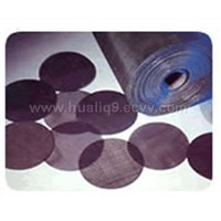 Plain Steel Wire Cloth(Black Iron Wire Cloth) (Click Photo for Details)