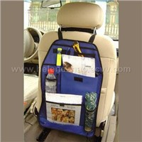 Car Seat Organizer With Many Folders And Pockets