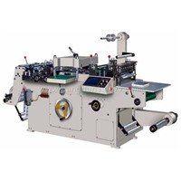 Automatic No-Dry Glue Trademark Mould Cutting Machine