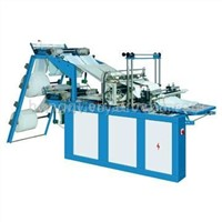 High-speed photoelectric control double-layer four-line bag-making machine