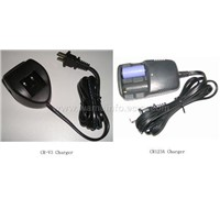 rechargeable CR123A and CR-V3 chargers