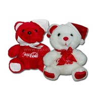 Stuffed & Plush Teddy Bears-Coca Cola Bear
