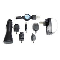 USB Charger Kit (USB Charger,USB Travel Charger,USB Car Charger, 5 Charger Connectors)
