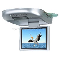 8 Inch Motorized Roof-mount DVD Player with TV Tuner (Option: IR Transmitter,IR Earphone , FM Tran
