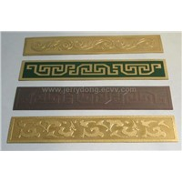 Brass Strip of Decorative for the Wall