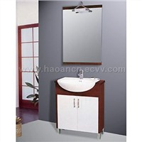 Coverall Ceramic Basin and Bathroom Cabinet
