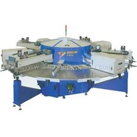 WPKX Series multi-color automatic rotaing screen-printing machine