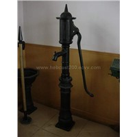 cast iron hand pump
