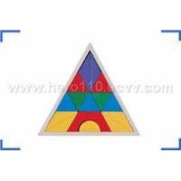 Triangle Shape Sorter Box(wooden toy)