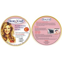 Hair Curl Heating in Microwave Oven