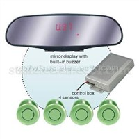 Back-view-Mirror Phonetic Digital Parking Sensor ( PA601Y )
