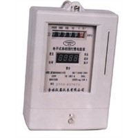 Sell card operated prepaid kwh meter