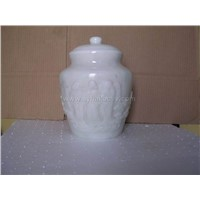 marble cremation urn