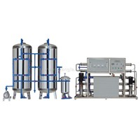 Industrail RO water purification system(2000L/H)
