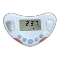body fat monitor with water analyzer
