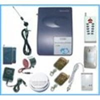 Wireless intelligent security alarm system