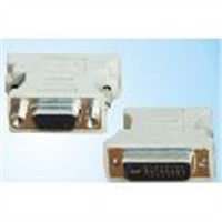 DVI 24+5 Male to HDB 15 Female+nut