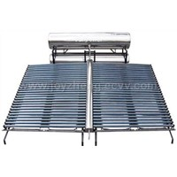 project use solar water heating equipment