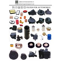 air,oil and fuel filters for automobiles and motorcycles