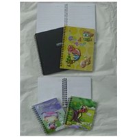 pvc tridimentional cover notebook