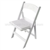 Resin Plastic Folding Chair---White! Office Chair/Rental Chair/Outdoor Chair!!!