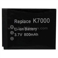 Digital camera and video camcorder battery