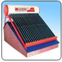 Solar Water for the Inclined Roof