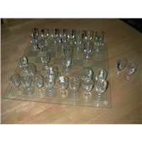 CHESS SET SHOT GLASS