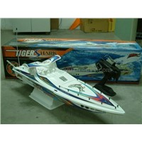 RC Gas Power Boat(Tiger Shark)