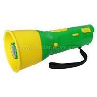 Flashlight with Megaphone, Radio and Emergency Alarm(S-1HC)