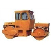Static road roller, soil compactor 6-24 ton