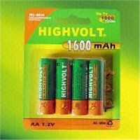 Ni-Mh AA 1.2V Rechargeable Battery