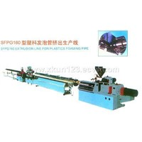 Extrusion Line for Plastics Foaming Pipe