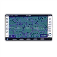 Car GPS Satellite Navigation System with Touch Screen