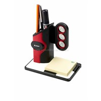 Pen Holder with Calendar and Memo Pad
