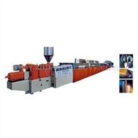 Plastic Profile Material Extruding Production Line
