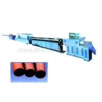 Plastic Pipe Extrusion Production Line
