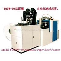 double coated paper bowl machine