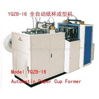 Model YQZB-16 Automatic Paper Cup Former