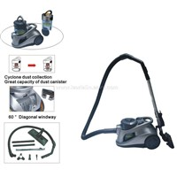 1600W Cyclonic Vacuum Cleaner with Tremendous Turbo Suction VC2535T
