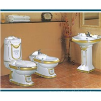 Toilet,ceramic wash Basin,Bidet