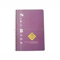 Spiral and PP Cover Notebook