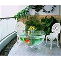 Fish Bowl Tea Table