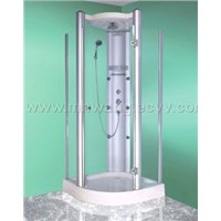 Curved Pivot Shower Door