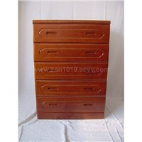 Wooden Five Drawer Cabinet