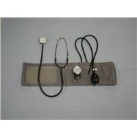Aneroid Sphygmomanometer and Medical Stethoscope