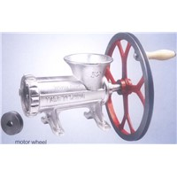 Meat Mincer with Motor Wheel