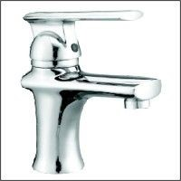 single lever single hole lavatory faucet